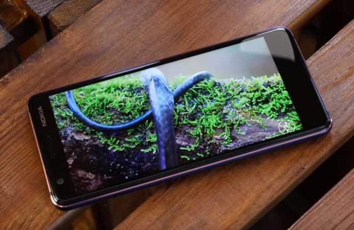 Nokia 3.1 экран