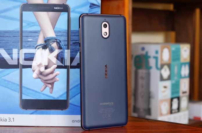 Nokia 3.1 корпус задняя часть
